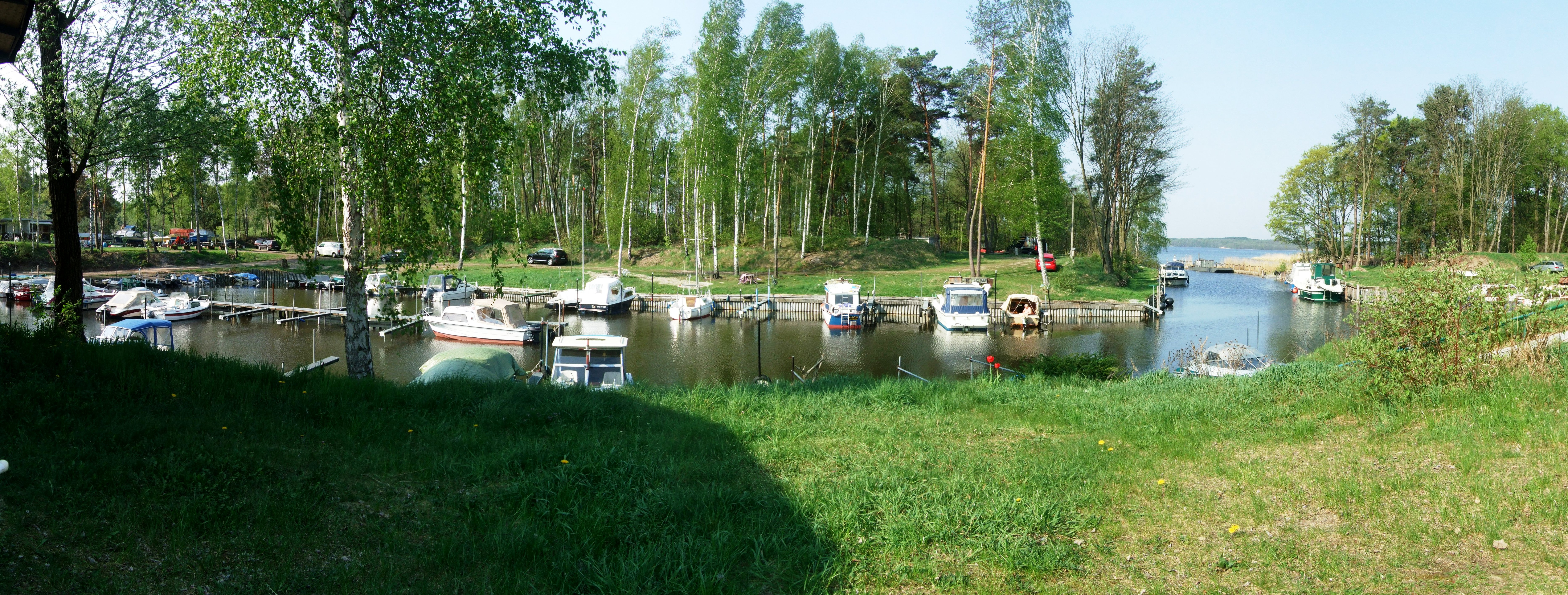 Bootshaus in Wolzig